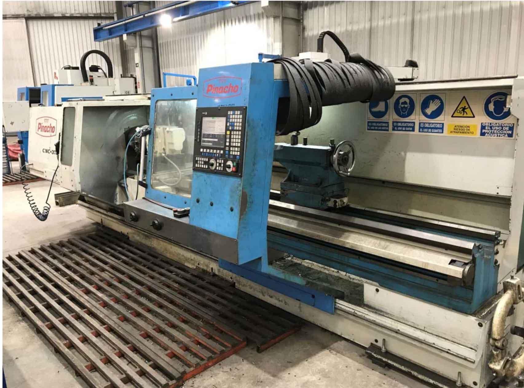 TORNO PINACHO CNC 375X3000 CNC FAGOR 8055
